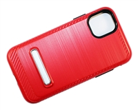 "iPhone 11 Pro Max 6.5"" Armor Case with Magnetic Kickstand - Red"