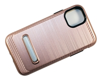 "iPhone 11 Pro Max 6.5"" Armor Case with Magnetic Kickstand - Rose Gold"