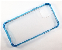 "iPhone 11 Pro Max 6.5"" Crystal Case with Edge Bumper - Blue"