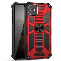 "Wholesale iPhone 12 Mini 5.4"" Armor Case 2020 - Red"