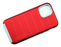 "Wholesale iPhone 12 / 12 Pro 6.1"" CF Armor Case - Red"