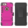 iPhone 7 / 8 Plus Armor Holster Combo Case - Pink
