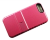iPhone 7 / 8 Plus Armor Hybrid Case with Card Slot - Pink