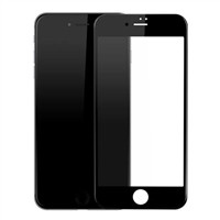Full Coverage Tempered Glass Screen Protector for iPhone 7 / 8 - Black
