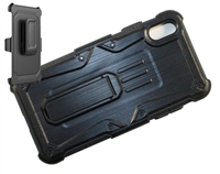 iPhone XR Armor Holster Combo Case - Black
