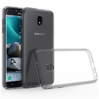 Samsung J7 2018 / J737 / J7 Star / J7 Aero / J7 Refine Crystal Case - Black