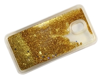 Samsung J7 Refine / J7 Star / J737 / J7 2018  Liquid Glitter TPU Case - Gold