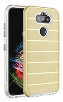 Wholesale LG Aristo 5 / Monarch / Fortune 3 / K31 CF Armor Case - Gold