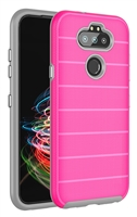 Wholesale LG Aristo 5 / Monarch / Fortune 3 / K31 CF Armor Case - Pink