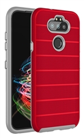 Wholesale LG Aristo 5 / Monarch / Fortune 3 / K31 CF Armor Case - Red