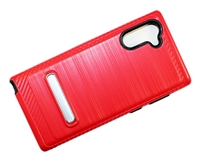 Samsung Note 10 Armor with Magnetic Kickstand Case - Red