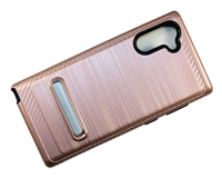 Samsung Note 10 Armor with Magnetic Kickstand Case - Rose Gold