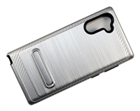 Samsung Note 10 Armor with Magnetic Kickstand Case - Silver