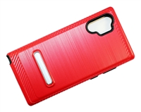Samsung Note 10 Plus Armor with Magnetic Kickstand Case - Red