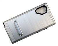 Samsung Note 10 Plus Armor with Magnetic Kickstand Case - Silver