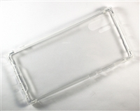 Samsung Galaxy Note 10 Plus Crystal Case with Edge Bumper - Clear