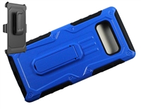 Samsung Galaxy Note 8 Armor Holster Combo Case- Blue