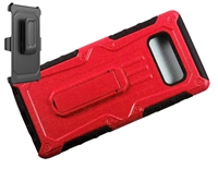 Samsung Galaxy Note 8 Armor Holster Combo Case- Red
