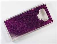 Samsung Galaxy Note 9 Liquid Glitter TPU Case - Purple