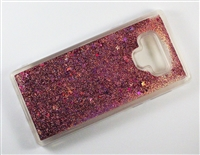 Samsung Galaxy Note 9 Liquid Glitter TPU Case - Rose Gold