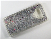 Samsung Galaxy Note 9 Liquid Glitter TPU Case - Silver