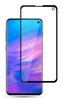 Full Coverage Tempered Glass Screen Protector for Samsung Galaxy S10e - Black