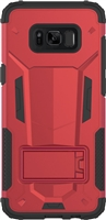Samsung Galaxy S8 3in1 Armor Hybrid Case - Red