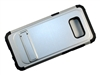 Samsung Galaxy S8 New Armor Case with Kickstand - Silver