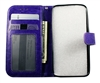Samsung Galaxy S8 Leatherette Wallet Case - Purple