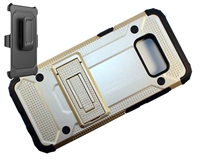 Samsung Galaxy S 8+ Plus Armor Holster Combo Case - Gold