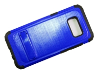 Samsung Galaxy S8+ Plus New Armor Case with Kickstand - Blue