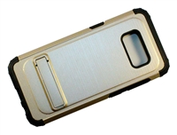 Samsung Galaxy S8+ Plus New Armor Case with Kickstand - Gold