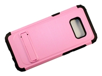 Samsung Galaxy S8+ Plus New Armor Case with Kickstand - Pink