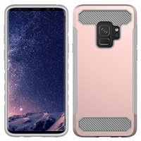 Samsung Galaxy S9 CF Armor Case - Rose Gold