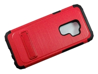Samsung Galaxy S9 Plus Armor Case with Kickstand - Red