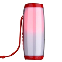 TG-157 Wireless Bluetooth Speaker LED Lights - Red