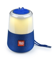 TG-168 Wireless Bluetooth Speaker LED Lights - Blue