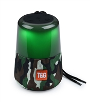 TG-168 Wireless Bluetooth Speaker LED Lights - Camouflage