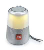 TG-168 Wireless Bluetooth Speaker LED Lights - Gray