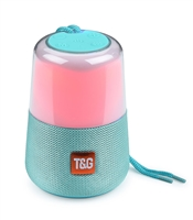 TG-168 Wireless Bluetooth Speaker LED Lights - Green