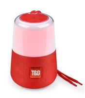 TG-168 Wireless Bluetooth Speaker LED Lights - Red