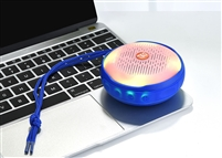 TG-607 Wireless Bluetooth Speaker LED Lights - Blue