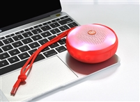 TG-607 Wireless Bluetooth Speaker LED Lights - Red