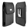 Vertical Rugged Nylon with velcro flip closure Pouch fit iPhone 6L
