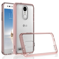 LG Aristo 2 X210 / Fortune 2 / Tribute Dynasty / Zone 4 Crystal Case - Pink
