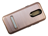 LG Aristo 4+ / Escape Plus / Tribute Royal / X320 Armor Case with Magnetic Kickstand - Rose Gold