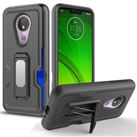 Motorola Moto G7 Power / Supra Xt1955 Holster Combo Case - Black