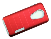 Moto G7 Power / Supra XT1955 New CF Armor Case - Red