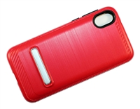 Moto E6 Play XT2005 Armor Case with Magnetic Kickstand - Red