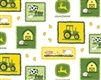 John Deere Farm Scene Patches 16186